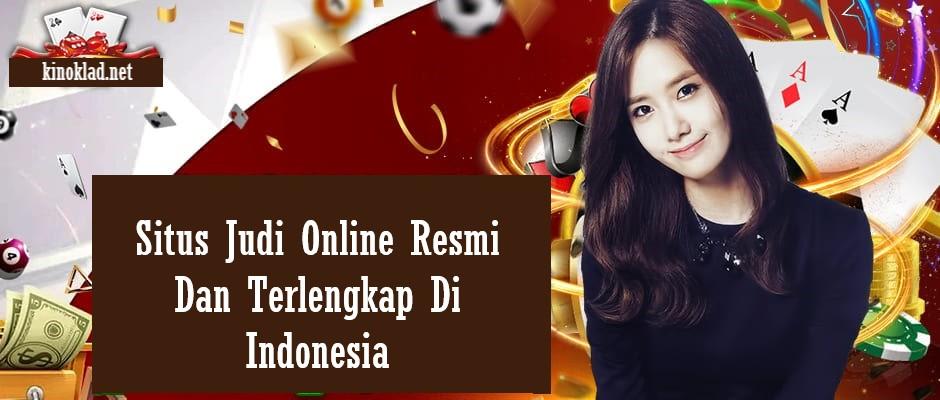 Situs Judi Online Resmi Dan Terlengkap Di Indonesia