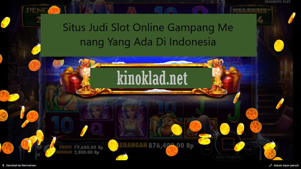 SitusJudiSlotOnlineGampangMenangYang Ada Di Indonesia